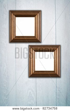 Two Square Photo Or Painting Frames