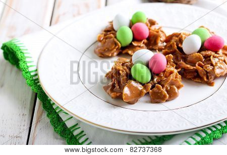 Chocolate And Cornflakes Nests