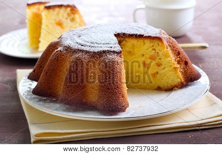 Yogurt Citrus Cake