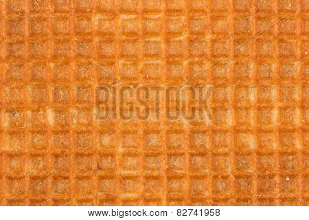 Waffle Yellow Background For Design