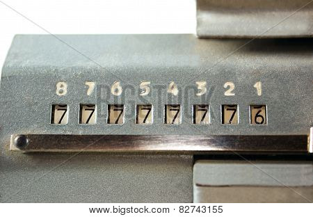 Scoreboard Adding Machine