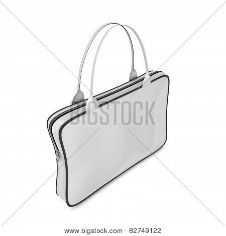 Bag With Handles And Zipper