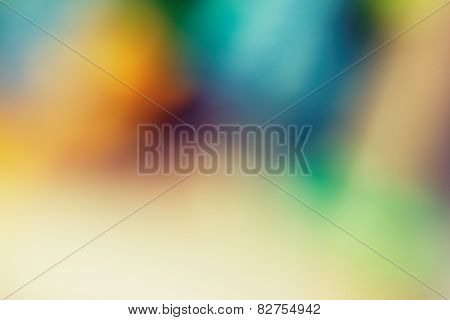 Abstract Colorful Shallow DOF Background