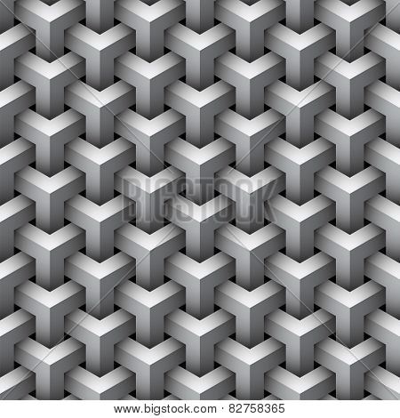 Seamless geometric pattern background.
