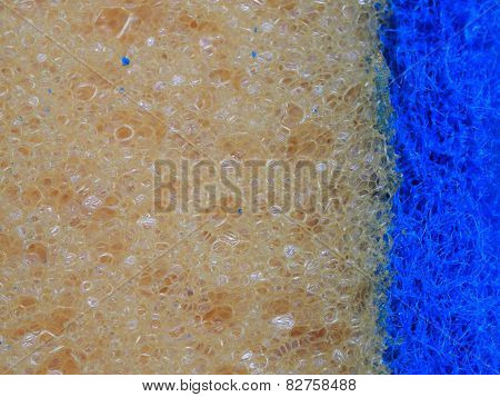 Texture of different materials