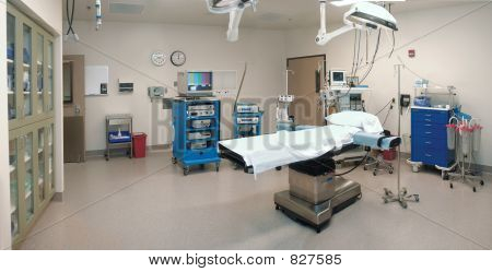 empty operating room