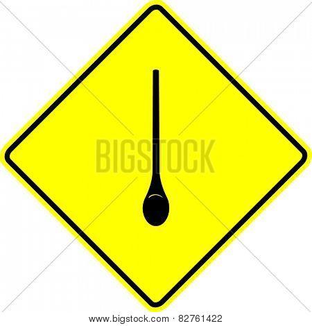 kitchen spoon sign
