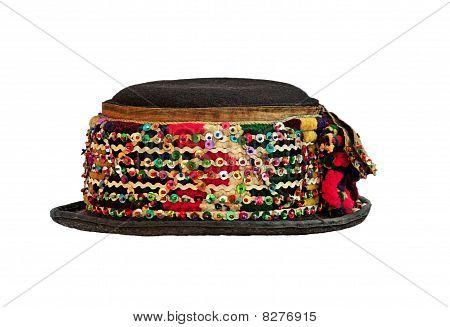 Ethnic slavic karpatian hat