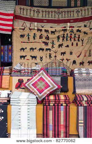 Burmese Fabrics