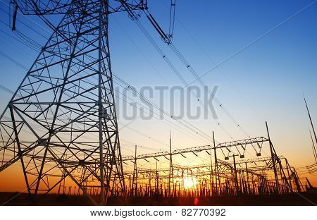 The power supply facilities