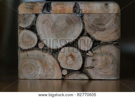 Log Background