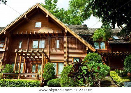 the log home