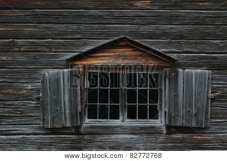 Log Texture With Window