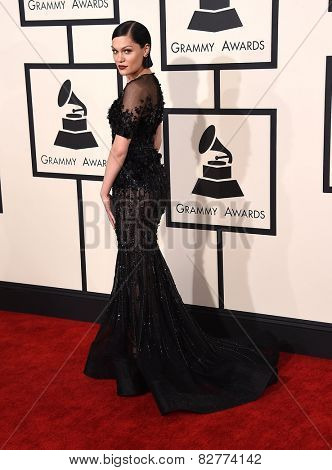 LOS ANGELES - FEB 08:  Jessie J arrives to the Grammy Awards 2015  on February 8, 2015 in Los Angeles, CA
