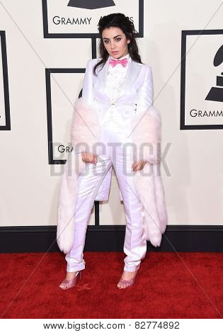 LOS ANGELES - FEB 08:  Charli XCX arrives to the Grammy Awards 2015  on February 8, 2015 in Los Angeles, CA