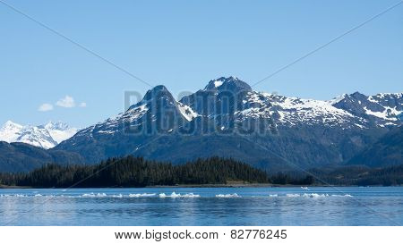 Icebergs in Prince William Sound