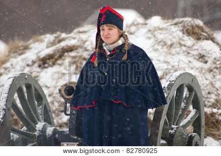 Napoleonic War Woman
