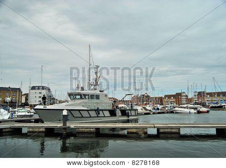 Boat at Mooring
