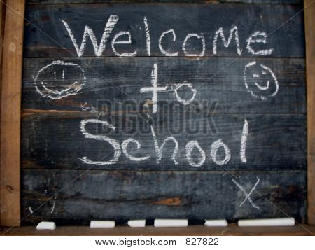 Old Fashioned Chalkboard