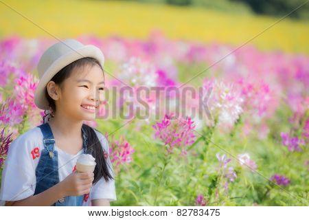 Asian Pretty Little Girl