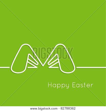Easter bunny ears.