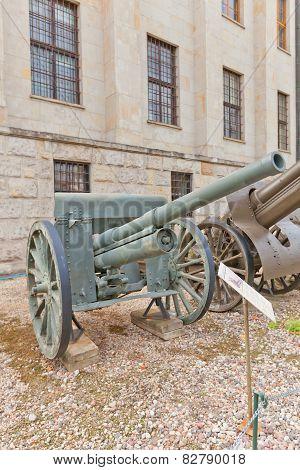 Soviet 76 Mm Divisional Gun Model 1902/30