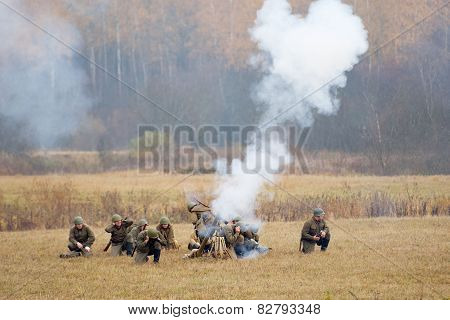 Grenade Launcher Shooting
