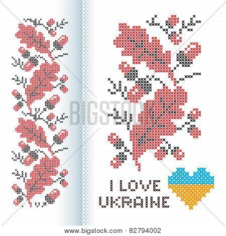 Ornament national Ukrainian