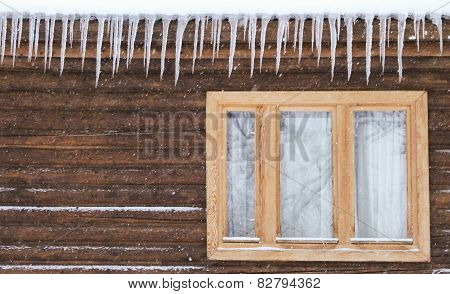 Icicles On The Window