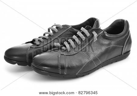 a pair of casual shoes for man on a white background