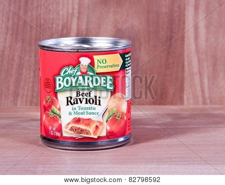 Can Of Chef Boyardee Beef Ravioli