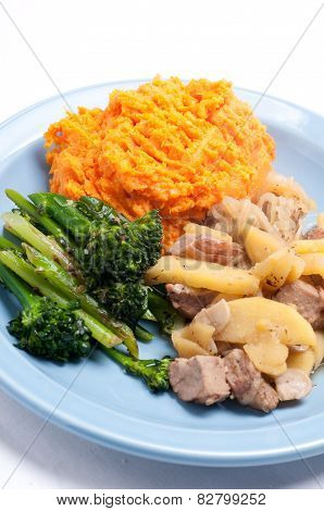 Pork And Sweet Potato