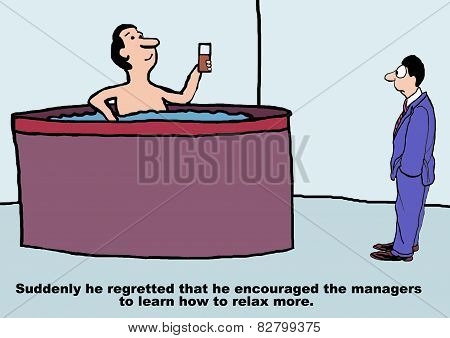 Managers Are Relaxing