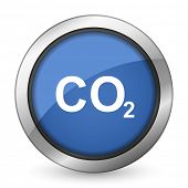 foto of carbon-dioxide  - carbon dioxide icon co2 sign  - JPG