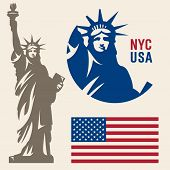 picture of statue liberty  - Statue of Liberty - JPG