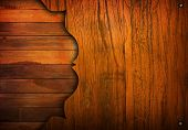 stock photo of tan lines  - cracked wood background  - JPG