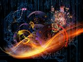foto of metaphysical  - Waves of Technology series - JPG