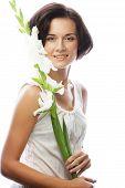foto of gladiolus  - Close - JPG