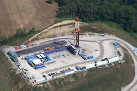 stock photo of shale  - Marcellus - JPG