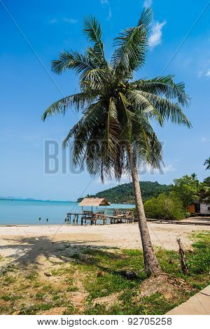 Beautiful Tropical Beach At Island Koh Chang