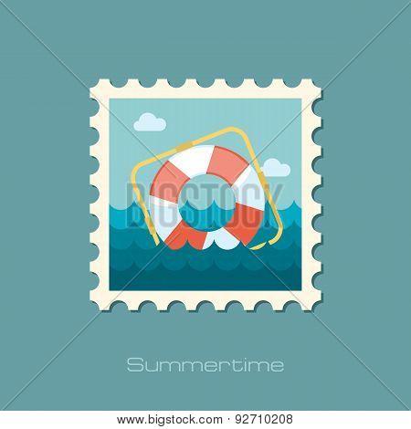 Lifebuoy Flat Stamp