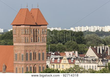 Saint Jacob Church Torun (former Thorn) Town, Poland. Unesco Site