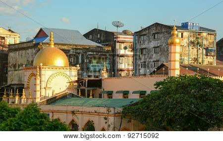 Old Buildings In Yangon