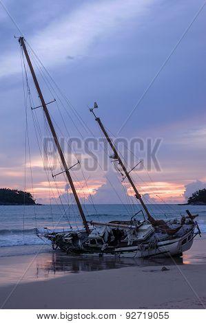 The Ship's Side,  Kata Beach, Phuket Thailand