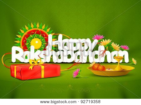 Happy Rakshabandhan wallpaper background