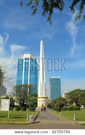 Independence Monument In Yangon