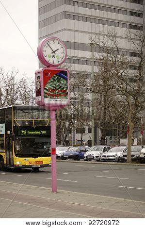 Bus Berlin Messedamm