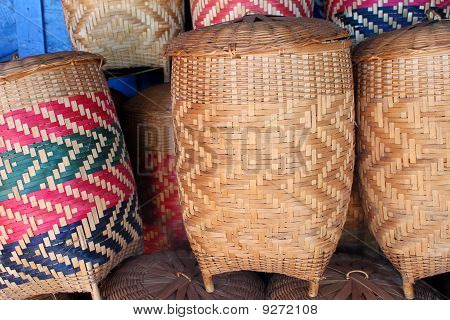 Handmade Product Of Bamboo