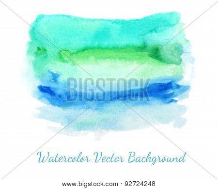 Watercolor Texture Spot