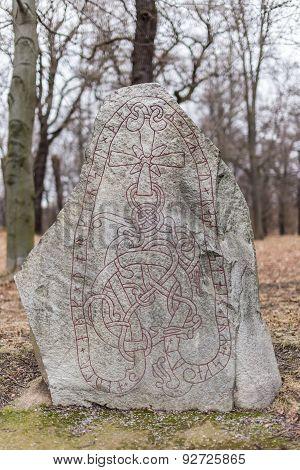 Ancient Nordic Runestone